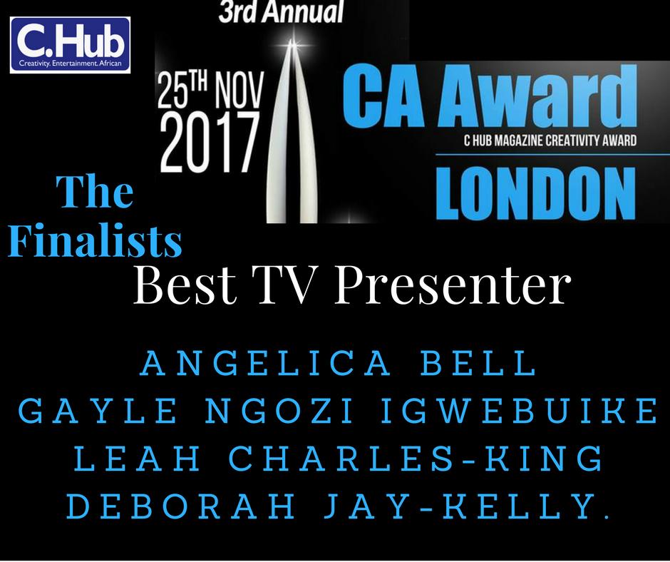 Best TV Presenter 2017 Finalists